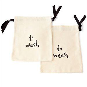Kate spade wash and wear lingerie bag sets.